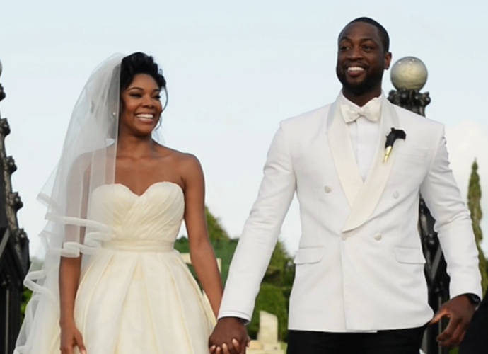 Stars Reveal The Real Cost Of Their Wedding   Frankies Facts  Gabrielle Union Wedding Pictures